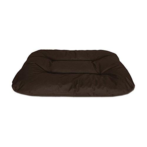 BedDog® Rex marrón XXL Aprox. 120x100x14cm colchón para Perro, 9 Colores, Cama, sofá, Cesta para Perro