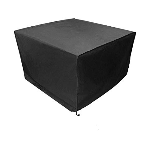 OKMIJN - Funda cuadrada para muebles de jardín, impermeable, para mesa de muebles, varios tamaños a elegir, Fibra sintética, 120*120*74cm