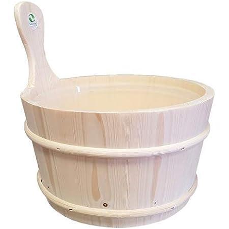 SudoreWell® Seau de sauna 4,0 l avec insert - accessoire pour sauna