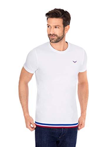 Trigema Herren 621232120 T-Shirt, Weiss, M