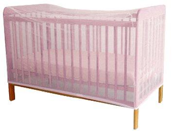 Looping - Mosquitera para cama, color rosa claro