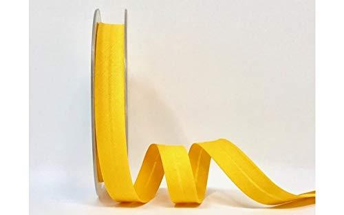 Narzissen-Spiralbindung, Polycotton, 18 mm, Gelb, 4 m Länge Dies ist ein Schnitt von einer Rolle)