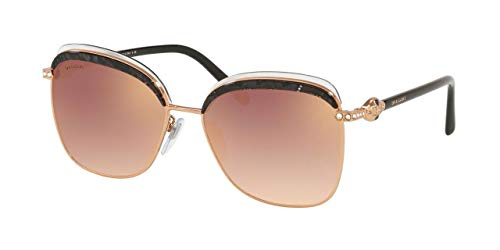 Occhiali da sole Bvlgari SERPENTI BV 6112B ROSE GOLD/PINK SHADED donna