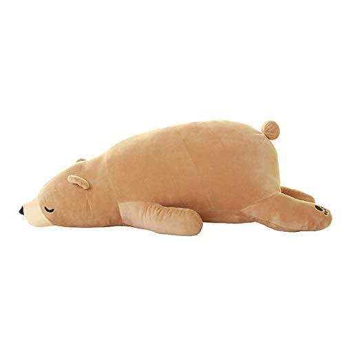 CANAFA Cute Polar Bear Soft Plush Pillow, Kawaii Bear Stuff Plush Toy, Cute Plush Penguin Throw Pillow Soft Chubby Stuffed Toys for Kids Friends Baby Sofa Decoration