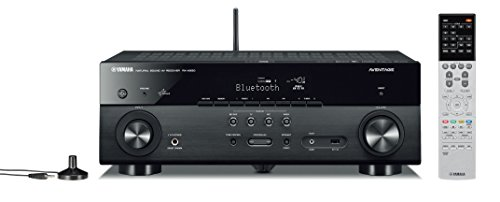 Yamaha RX A550 5 1 Channel MusicCast AV Receiver with Built In Wi Fi and Bluetooth Black
