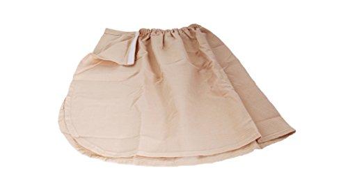 Handdoek, honingraatpatroon, bevestigingsgrootte, voor Russische bania of sauna, roze, eenheidsmaat, klittenbandsluiting