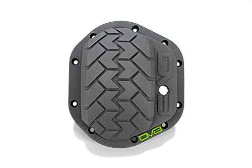 "DV8 Offroad | Heavy Duty Differential Cover with Patented ""Tired Tread"" Pattern 
