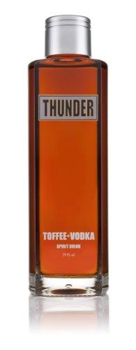 Thunder Toffee Vodka   Five Times Distilled Premium Grain Vodka   100%...