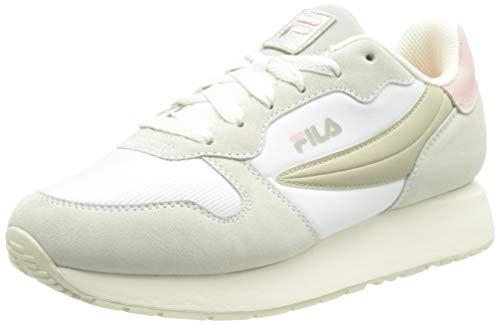 FILA Retroque wmn zapatilla Mujer, blanco (White/Marshmallow), 38 EU