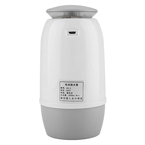 Bomba de agua de botella recargable USB Bomba de agua potable para agua embotellada de 4.5L para exteriores