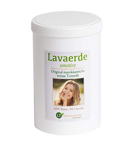 Weisse Lavaerde/Ghassoul | Original aus Marokko | 1kg | feines Pulver zur chemiefreien Haarwäsche & Körperpflege | vegan | marokkanische Tonerde | Heilerde | Wascherde | Kaolin