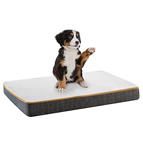 Comfy Line - Cuccia Cane da Interno Lettino Materasso per Animali di Taglia Grande. Cuscino Sfoderabile Materassino Lettino Cani Gatti. Fodera Traspirante e Antiodore. Made in Italy 100%