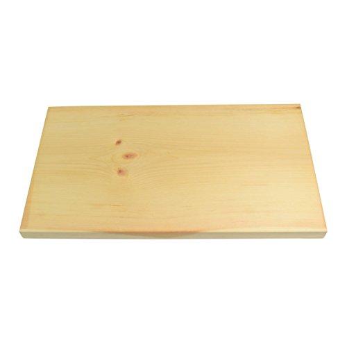 4betterdays Einfaches und natürliches Brotzeitbrett aus Zirbenholz klein - Maße: 35 x 20 x 1,8 cm - gefertigt in Österreich