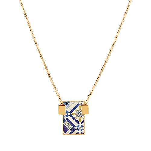 Christian Lacroix XF41010LD - Collar para Mujer (latón, Chapado en Oro y Brillante)