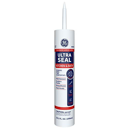 GE Sealants & Adhesives - MAKB210WT Ultra Seal Caulk, 10.1oz, White