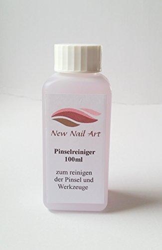 New Nail Art 100 ml de nettoyant pour pinceaux pour nettoyer les pinceaux et les outils, dissolvant pour vernis à ongles, accessoires pour le soin des ongles.