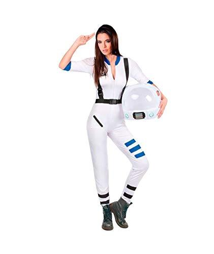 Partylandia Disfraz de Astronauta para Mujer Carnaval Cosplay Cómodo Suave L