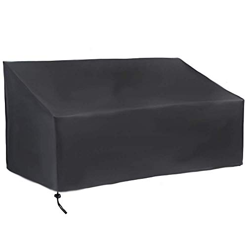 Uranbee Garden Bench Cover 2 Seater 210D Oxford Heavy Duty Waterproof Outdoor Sofa Cover (2 seater)