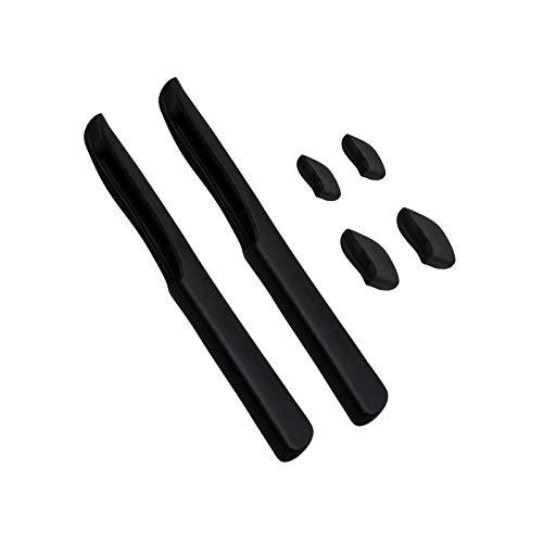 BlazerBuck Sock Kits Ohrensocken & Nasenstücke für Oakley Fast Jacket XL Sonnenbrille, schwarz,