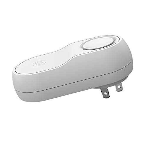 Pumpumly Electromagnetic Ultrasonic Pest Repeller Mice Rats Bugs Rodents Insects Electronic Repellent with Double Speakers(White)