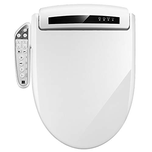 ARTALL WN-990 Smart Bidet Seat Bidet Toilet Seat Electric Heated Toilet Seat, Elongated, Side Arm Control, Multi-Function Cleaning, Warm Seat and Easy Installation