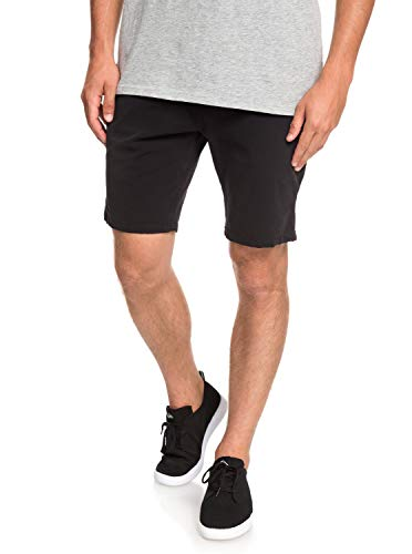 Quiksilver Krandy Walk Shorts, Hombre, Black, 30