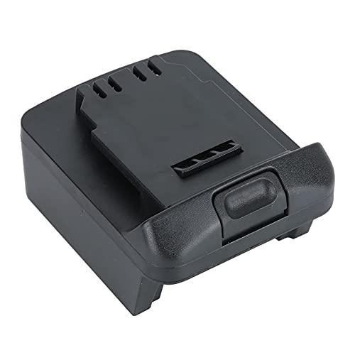 Adaptador de batería de Litio, convertidor de batería de Litio Adaptador de Corriente de batería de Litio Profesional para Exteriores para Herramientas eléctricas de la Serie 20V para