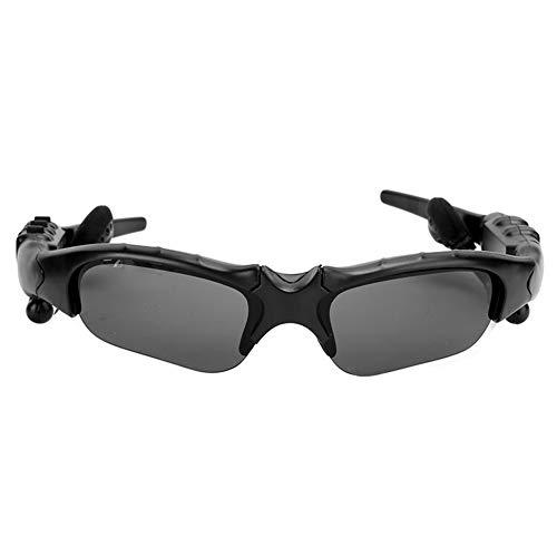 Gafas de Sol inalámbricas Bluetooth, diseño ergonómico, Sonido estéreo, reproducción de música, Llamadas Manos Libres, Suministros para Auriculares, para la mayoría de teléfonos Inteligentes o PC