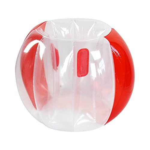 SXMY Bola de Colisión Inflable PVC Burbuja Fútbol para Adultos niños Bolas de Parachoques Bola de Hámster Humano para Niños,002,120 * 100cm