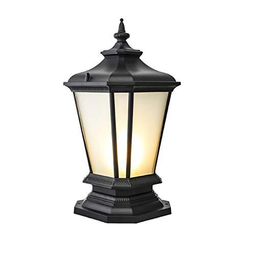 WEUROPESV Lámpara de Pilar, Lámpara de Pared, Lámpara de Paisaje de Villa, Lámpara de Exterior LED de Pared, Lámpara de jardín Europea