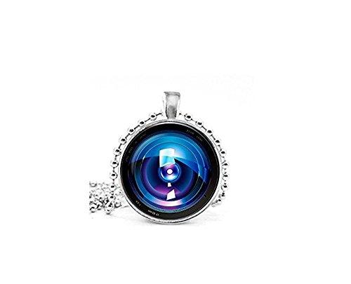 Kamera Objektiv Eye Anhänger Kamera Halskette Kamera Jewelry Geburtstag Geschenk