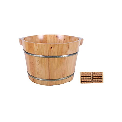Buy Discount Foot Bath, Wooden Foot soak Sauna Foot Bath, Massage, spa, Sauna, Soaked Handmade Woode...