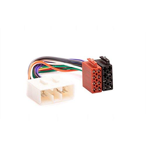 CARAV 12–021 Adaptateur radio ISO pour Subaru 1992 + (Certains modèles)/Renault Traffic 2014 + câblage Fil Harnais connecteur Laisse Loom Câble adaptateur prise stéréo