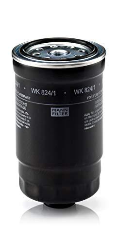 Original MANN-FILTER Filtro de Combustible WK 824/1 – Para automóviles