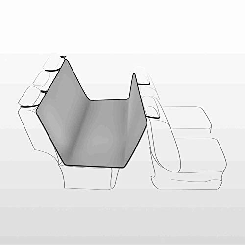 Trixie 1313 Auto-Schondecke, 1,45 × 1,60 m, hellgrau/schwarz