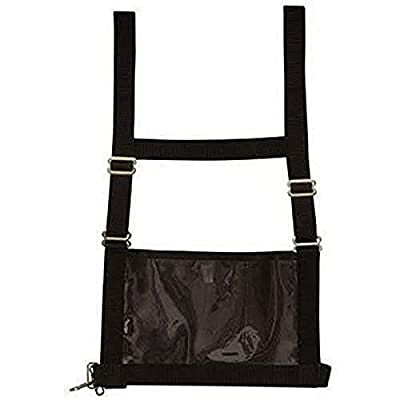 Weaver Leather Livestock Exhibitor Number Harness , Black , Small/Medium from Weaver Leather