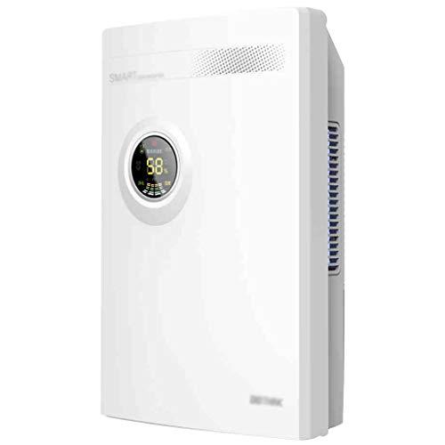 OCYE Luftentfeuchter, 2200 ml kompakter Luftentfeuchter (324 Quadratfuß), Schlafsaal für Badezimmer mit tragbarem Luftentfeuchter, Babyzimmer, Haushaltsweiß