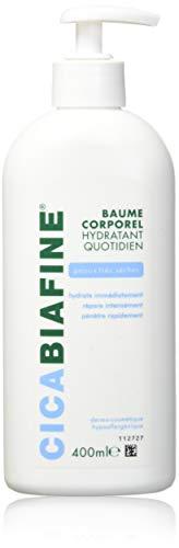 Cicabiafine–Baume hydratant corporel quotidien Peax très sèches (400ml)