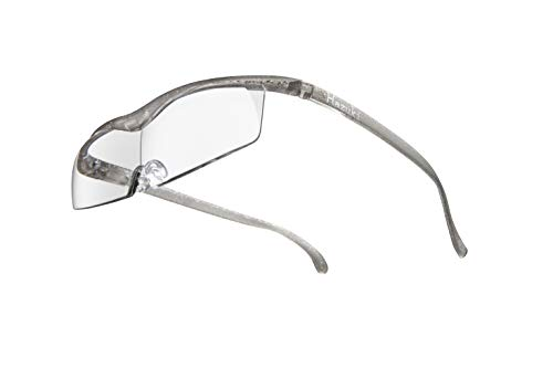 Hazuki ハズキルーペ 直営店 公式店 限定 倍率交換保証付き コンパクト 1.6倍 クリアレンズ チタンカラー ハズキ 拡大鏡 ルーペ メガネ型 眼鏡型 めがね型 メガネ 眼鏡 めがね 日本製 MADE IN JAPAN ギフト