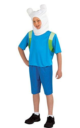 Rubies 's oficial de la hora de aventuras Finn el humano, los niños disfraz–grande