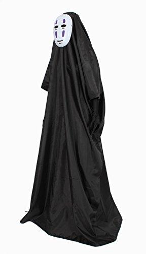 『カオナシフルセット マスク&ロング手袋付き コスチューム フリーサイズ』の8枚目の画像