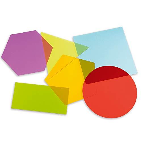 Tickit 72395Jumbo miscelazione Shape Board, diametro 200mm (confezione da 6)