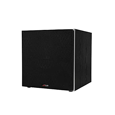 """Polk Audio PSW10 10"""" Powered Subwoofer - Featuring High Current Amp and Low-Pass Filter 