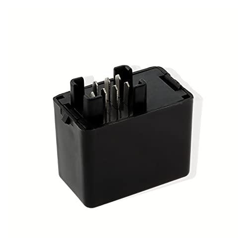 LMMY Black 7 Pin DIRIGIÓ INDICADOR DESPUÉS DE RELAJO DE Flasher Ajuste para Suzuki GSXR 600 750 1000 GSF 650 Piezas Interiores del Coche de Bandidos (Color : 1)