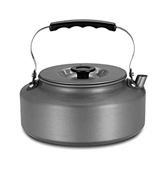 EYXLIN 1.6L Portable Kettle Water Pot Teapot Coffee Pot Indoor Whistling Aluminum Alloy Tea Kettle Outdoor Camping Hiking Picnic Pot  Color   A