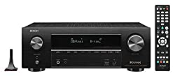 powerful Denon AVR-X1600H4K UHD AV Receiver | Model 2019 | 7.2 channels of 80W each | 3D Audio | Dolby Atmos New Height Virtualization | 6 HDMI Inputs and 1 eARC Output | AirPlay 2, Alexa, HEOS