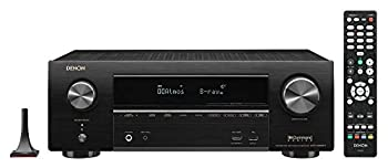 Denon AVR-X1600H 4K UHD AV Receiver | 2019 Model | 7.2 Channel 80W Each | 3D Audio | New Dolby Atmos Height Virtualization | 6 HDMI Inputs and 1 Output with eARC Support | AirPlay 2 Alexa & HEOS