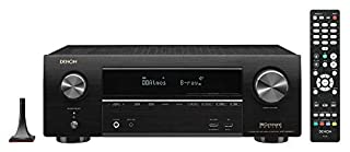Denon AVR-X1600H 4K UHD AV Receiver | 2019 Model | 7.2 Channel, 80W Each | 3D Audio | New Dolby Atmos Height Virtualization | 6 HDMI Inputs and 1 Output with eARC Support | AirPlay 2, Alexa & HEOS (B07RR6X7N9) | Amazon price tracker / tracking, Amazon price history charts, Amazon price watches, Amazon price drop alerts
