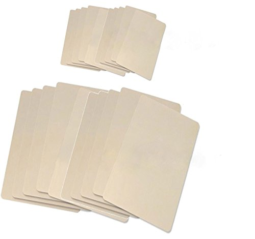 PFT 20 X Sheets of Large and Medium Sizes Tattoo Practice Skins, OTW-Tab1