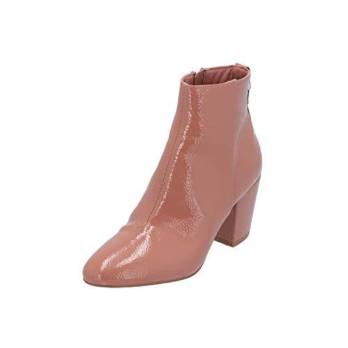 Topshop Brooklyn Damen Stiefel Beige Schnür-Stiefelette Winter, Größe:EUR 37